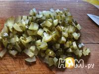 Приготовление запеканки из курицы и картофеля: шаг 4