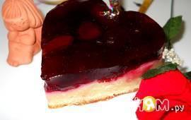 """Желейное пирожное """"Вишневый рай"""""""