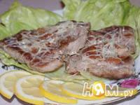 Приготовление свиных отбивных с пармезаном: шаг 4