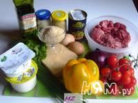 Приготовление салата Мясные шарики: шаг 1