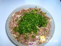 Приготовление салата Мясные шарики: шаг 3