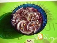 Приготовление салата Мясные шарики: шаг 7
