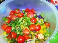 Приготовление салата Мясные шарики: шаг 10