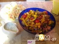 Приготовление салата Мясные шарики: шаг 12