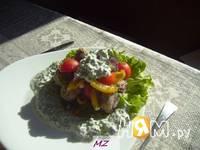 Приготовление салата Мясные шарики: шаг 13