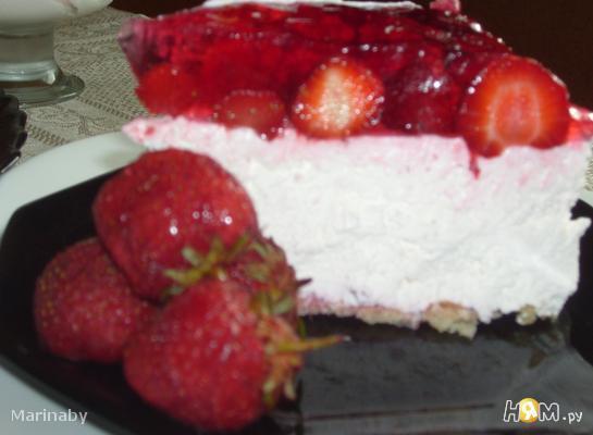 Торт «клубничный восторг»