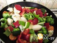 Приготовление теплого салата Весеннего: шаг 3