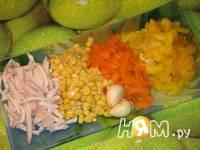 Приготовление салата с кальмарами и кукурузой: шаг 1