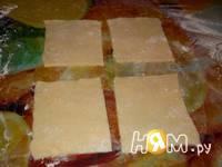 Приготовление творожного печенья Цветочная поляна: шаг 4