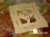 Приготовление творожного печенья Цветочная поляна: шаг 7