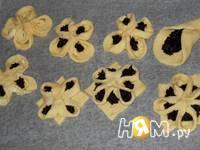 Приготовление творожного печенья Цветочная поляна: шаг 12