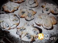 Приготовление творожного печенья Цветочная поляна: шаг 13