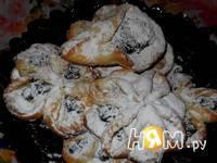 Приготовление творожного печенья Цветочная поляна: шаг 14