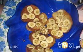 Тосты с бананом