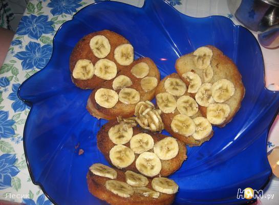 Рецепт Тосты с бананом
