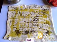 Приготовление треугольников с сыром: шаг 2