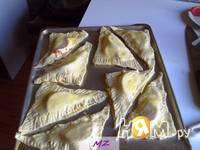 Приготовление треугольников с сыром: шаг 5