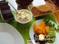 Приготовление десерта Dober tek: шаг 2