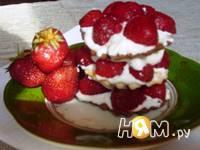 Приготовление десерта Dober tek: шаг 4