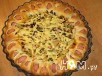 Приготовление пиццы Цветочек: шаг 5