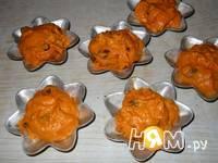 Приготовление тыквенных кексов с изюмом и апельсином: шаг 10