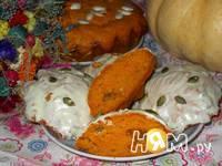 Приготовление тыквенных кексов с изюмом и апельсином: шаг 15