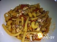 Приготовление пасты с морепродуктами: шаг 7