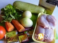 Приготовление плова Кин кхао: шаг 1