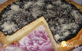 Пирог с творогом и шоколадом