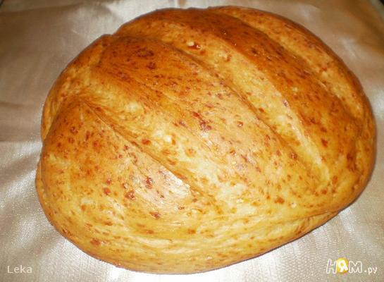 Сырный французский хлеб