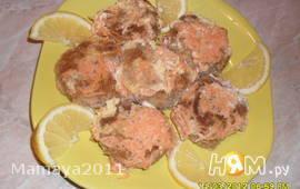 Рыбные тефтели в молочном соусе