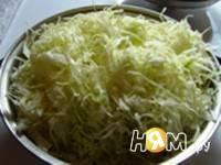 Приготовление пирога с капустой: шаг 3