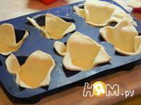 Приготовление закусочных корзиночек: шаг 4