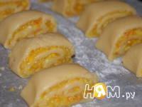 Приготовление печенья Апельсиновая нежность: шаг 7