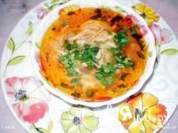 Приготовление томатно-куриного супа: шаг 10