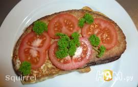 Бутерброд с моцареллой для короля