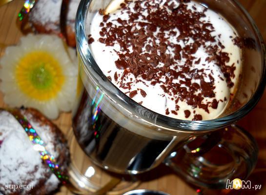 Кофе по-немецки с коньяком