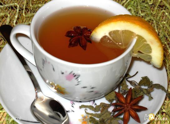 """Лимонно-мятный чай  """"Живая вода"""""""