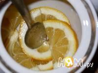Приготовление лимонно-мятного чая : шаг 3