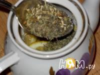 Приготовление лимонно-мятного чая : шаг 4