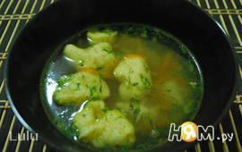 Суп с ржаными клецками для Иванушки-дурачка