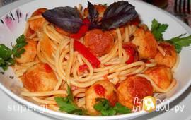 "Спагетти с фрикадельками ""Леди и бродяга"""