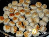 Приготовление спагетти с фрикадельками: шаг 5