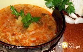 Капустный суп с перловкой