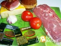 Приготовление мясного веера: шаг 2