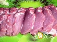 Приготовление мясного веера: шаг 4