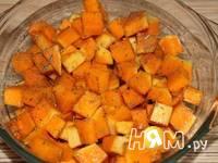 Приготовление тыквы запеченной с орехами и сыром: шаг 2
