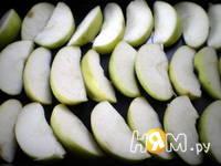 Приготовление свиных ребер с яблоками и медом: шаг 3