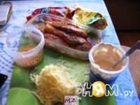Приготовление куриного филе под шубой: шаг 3