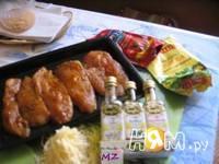 Приготовление куриного филе под шубой: шаг 4
